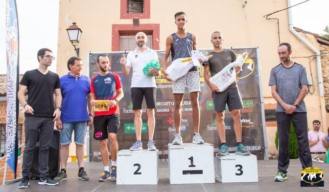 Bilal Touirtou y Ángeles Magan ganan en la Popular de Uña