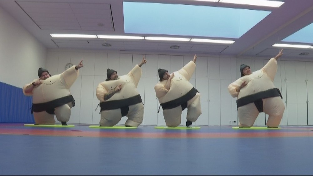 El éxito de la gimnasia navarra 'arrítmica'