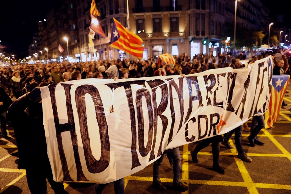 Los CDR provocan disturbios en la jornada de reflexión