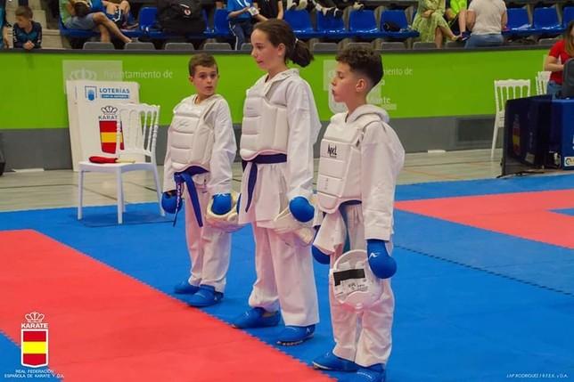 Tres medallas para el Kidokan