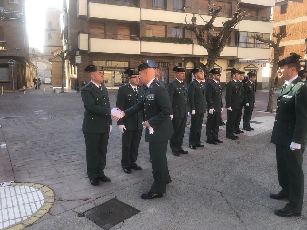 Marcilla homenajea a la Guardia Civil en su 175 aniversario