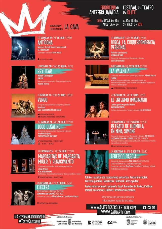 Arranca la XX edición del Festival de Teatro de Olite