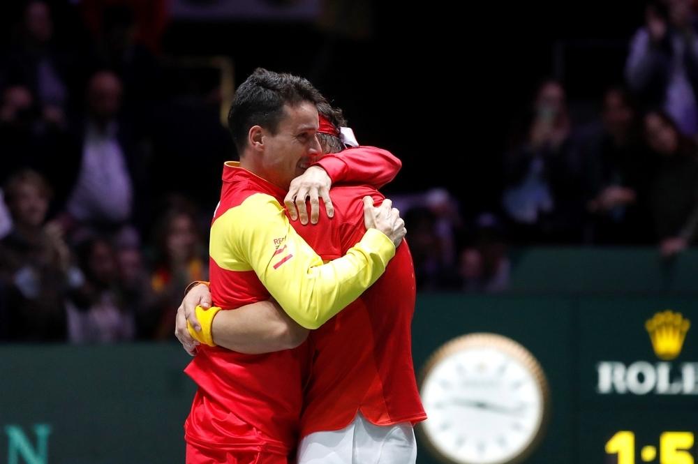 España gana por sexta vez la Copa Davis
