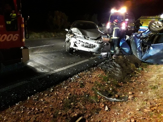 Herida grave una menor en otro accidente en la CR-612