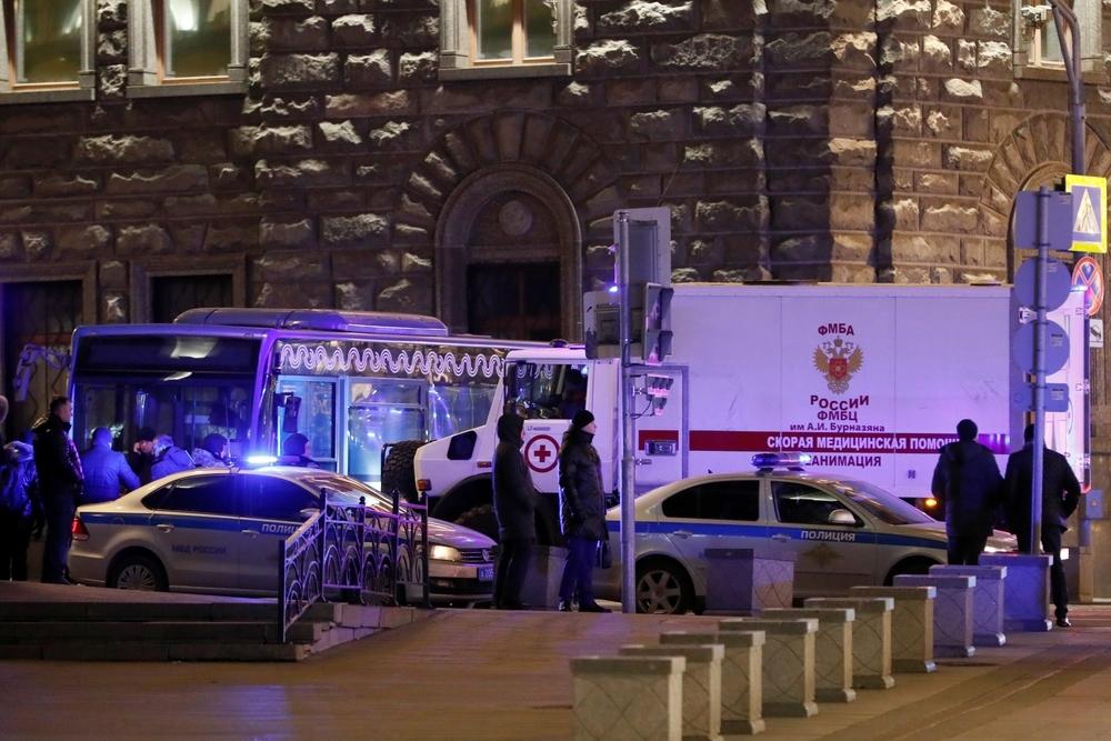 Se registra un tiroteo en una sede gubernamental de Moscú