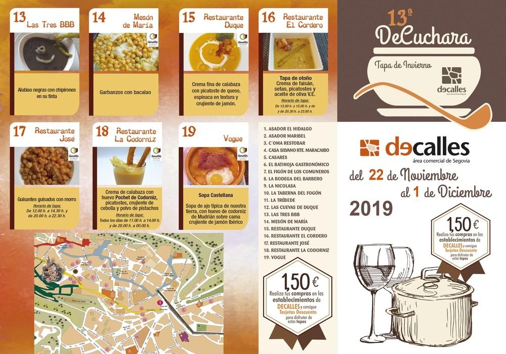 Tapas 'de cuchara' en 19 restaurantes de Segovia a 1,50 €
