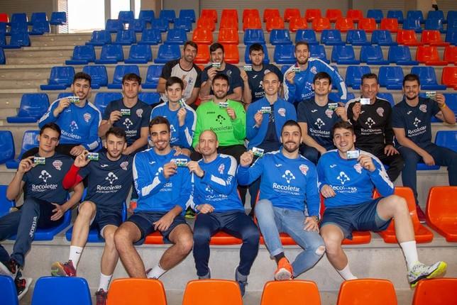 Apoyo de Aula y Atlético Valladolid a Inclusport Alejandro Nieto