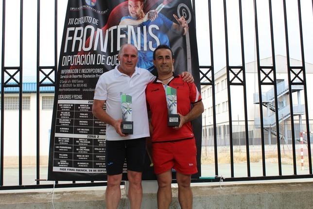 El circuito Frontenis se desplazó a La Parrilla y Quintanar