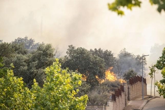 Declarado de nivel 1 el incendio que afecta a Toledo
