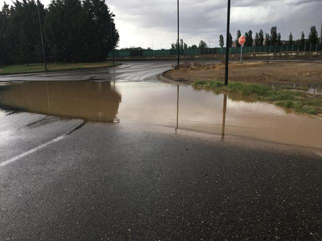 Túneles y garajes inundados en Valladolid capital y alfoz