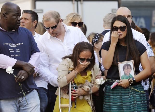 Barcelona rinde homenaje a las víctimas de los atentados