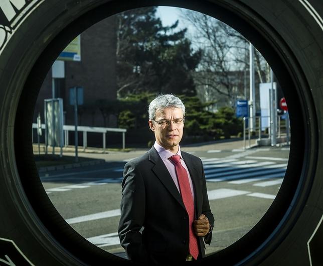 Bruno Arias, director de la fábrica de Michelin en Valladolid