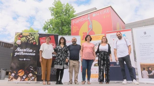 El pincho de Sabicas llega a Pamplona con sabor a flamenco