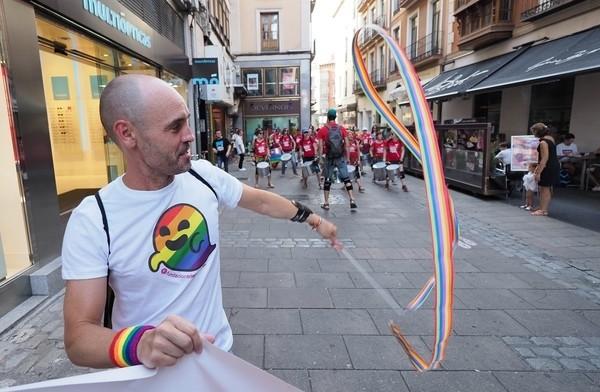 Una marcha reclama los derechos del colectivo LGBTI