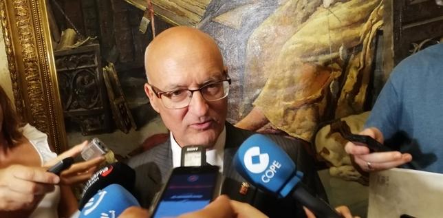 """Ciriza: """"Queremos avanzar en el TAV y Canal de Navarra"""