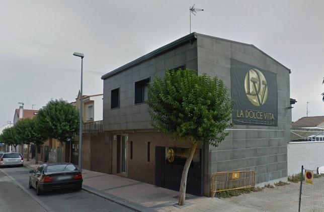 Pub La Dolce Vita, situado en La Flecha. D.V.
