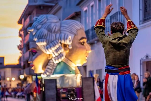 El Burleta triunfa en el Desfile del Día del Ofertorio Jesús Manzaneque