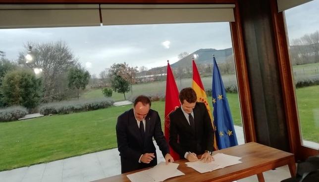 UPN y PP firman su acuerdo electoral