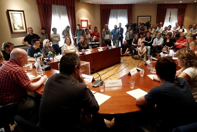 EH Bildu recupera la alcaldía de Huarte con el PSN ausente