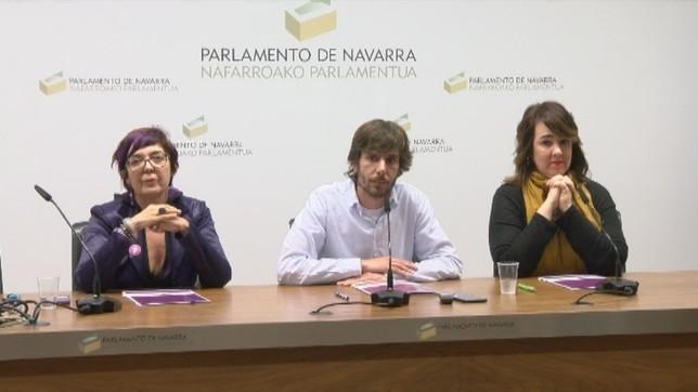 El TSJN no cambia el nombre del grupo Podemos-Orain Bai