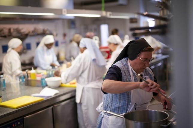 Apuesta religiosa por la alta cocina