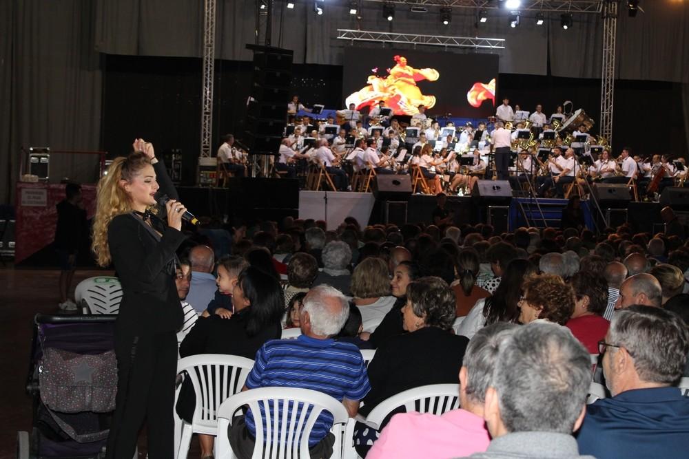 Multitudinario encendio de fiestas musical en Tarancón