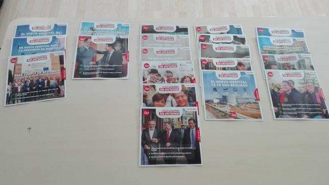 PSOE edita 500.000 folletos para explicar la gestión de Page