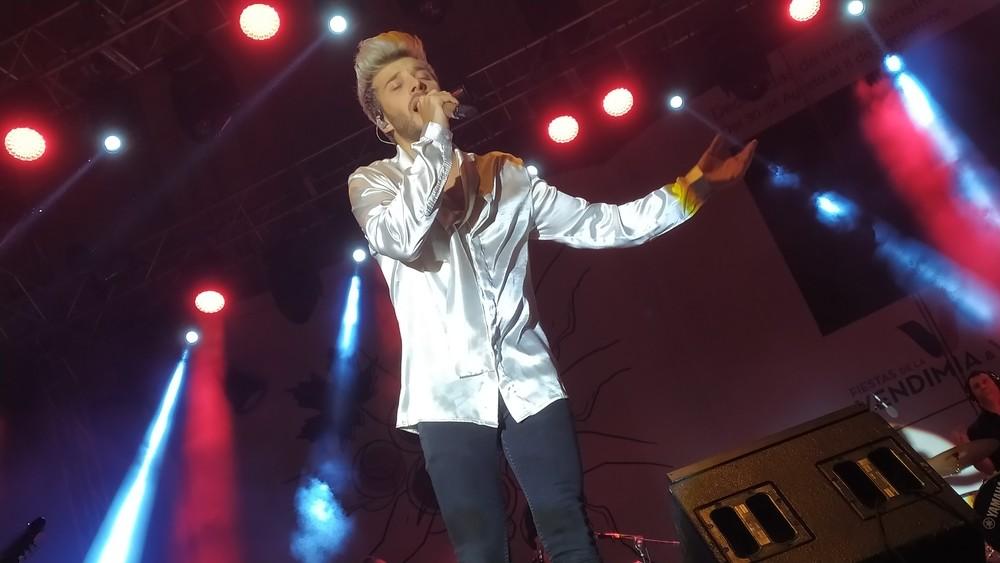 Blas Cantó deslumbra ante 6.000 personas en Valdepeñas