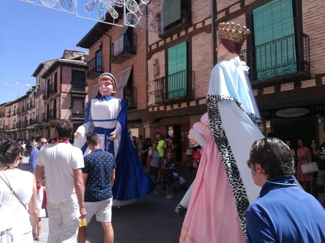 El Burgo de Osma celebra el día grande de las peñas