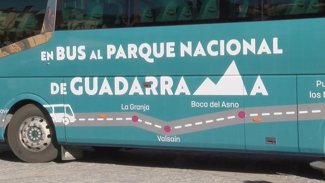 'En bus al parque Nacional de Guadarrama'