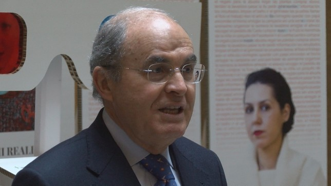 Francisco Arasanz, presidente de la Asociación Española contra el cáncer en Navarra