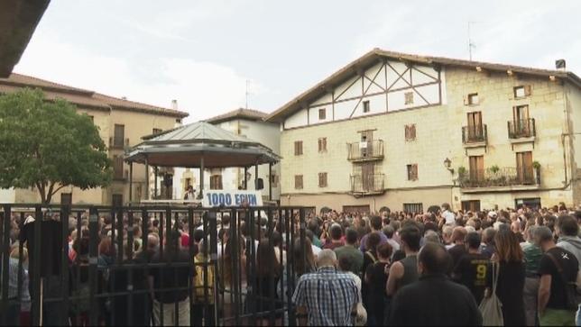 Alsasua recuerda los mil días de prisión de los encausados
