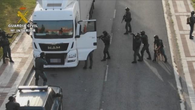 El yihadista detenido en Pamplona ya está en Madrid