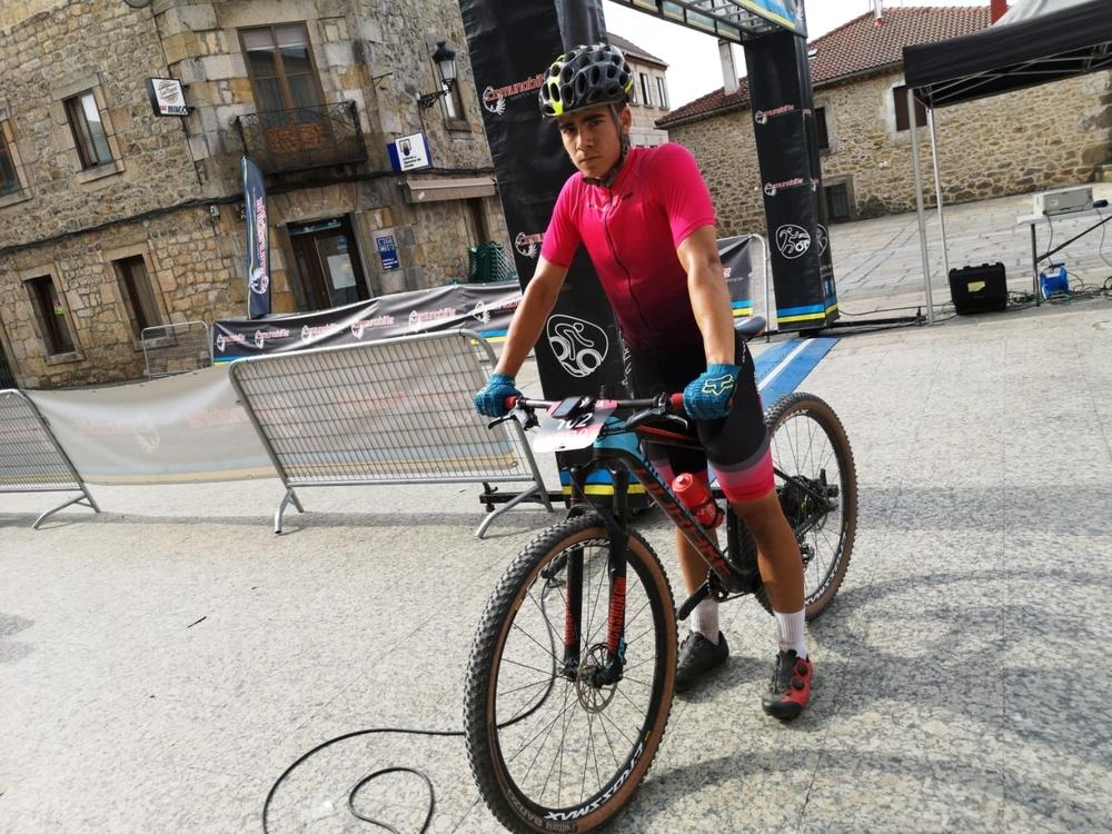 Duruelo de la Sierra vive su Marcha BTT con 140 ciclistas