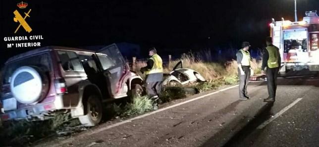 Fallece un joven tras chocar con su vehículo en Corella