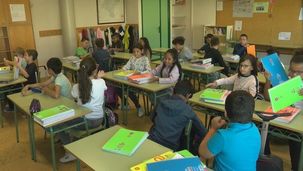 Arranca el curso escolar en Navarra con 95.690 estudiantes