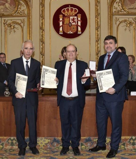 Tarancón felicita al notario Francisco Javier García Más