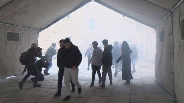 El Alcázar, a prueba de fuego