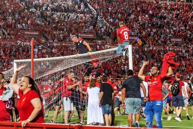 El Mallorca remonta al Dépor y es equipo de Primera División