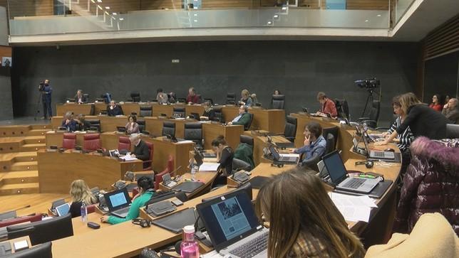 El cuatripartito critica el acuerdo UPN-PP-Ciudadanos