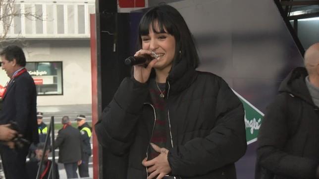 Natalia Lacunza encandila a sus seguidores en Pamplona