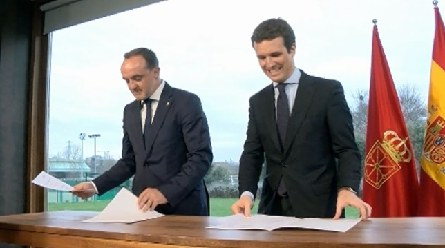 """Un acuerdo con Ciudadanos y PP, """"apuesta ganadora"""" para UPN"""