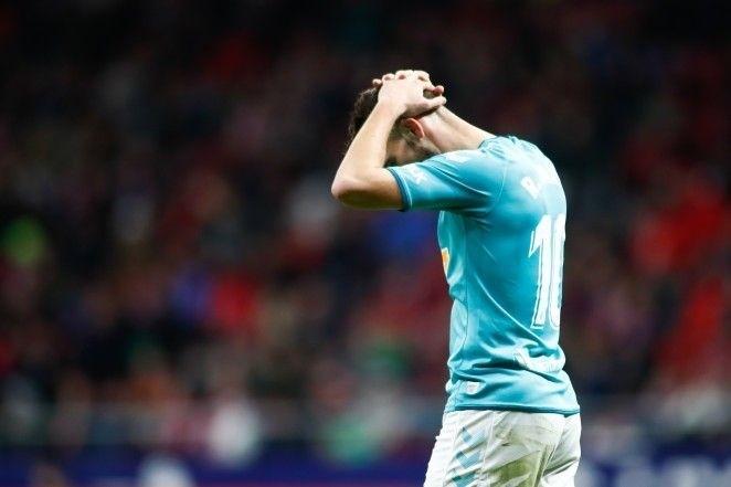 Osasuna ofrece una buena imagen en el Wanda, pero pierde 2-0