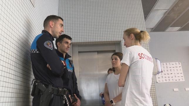 Pamplona, preparada para actuar ante una parada cardíaca NATV