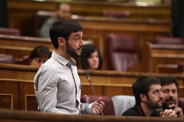 Bustinduy rechaza ser candidato de Podemos en las europeas