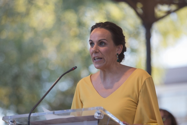 Eva Masías será la cabeza de lista de Cs a la capital Tomás Fernández de Moya