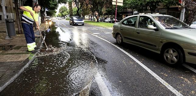 Las tormentas dejan 36 y 31 l/m2 en Grijota y Cervera
