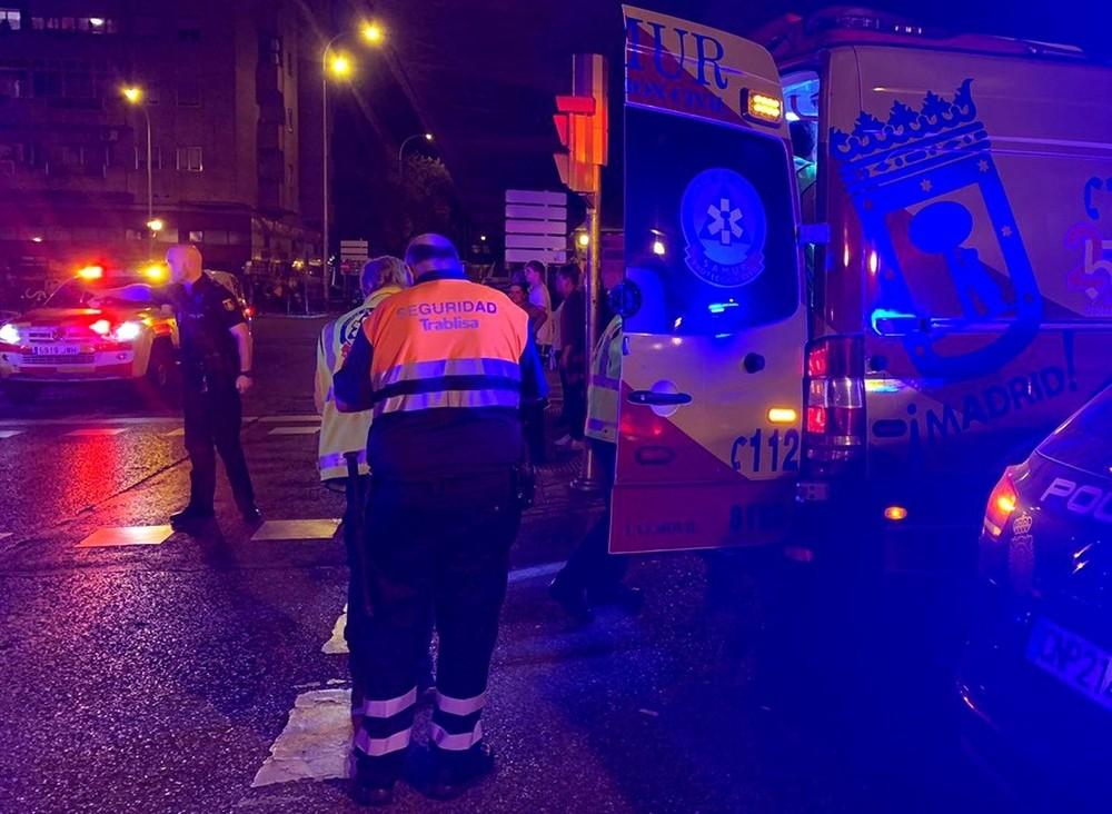 Cuatro heridos graves tras una pelea multitudinaria en Madrid