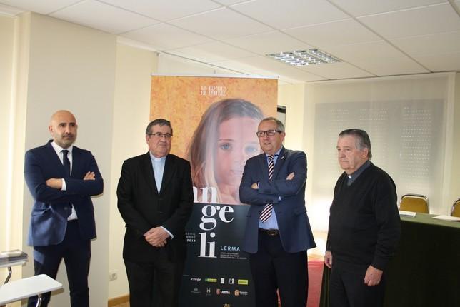 Desde la izquierda, José Enrique Martín, Ángel Galindo, Javier López Escobar y Miguel Ángel Barbado D.S.