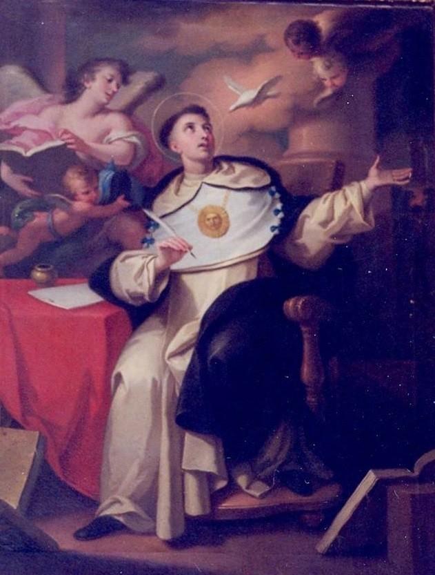 Santo Tomás de Aquino, anónimo, del siglo XVIII, de la Catedral D.S.